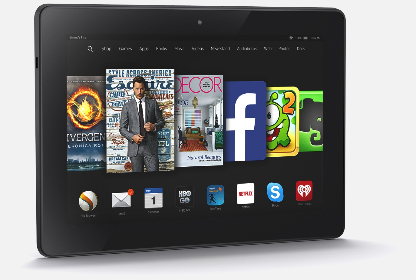 New Kindle Fire HDX 8.9 2014-2015 Edition