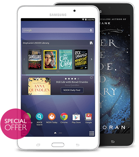 Samsung Galaxy Tab 4 7.0 NOOK On Sale