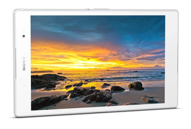 Sony Xperia Z3 Tablet Compact display