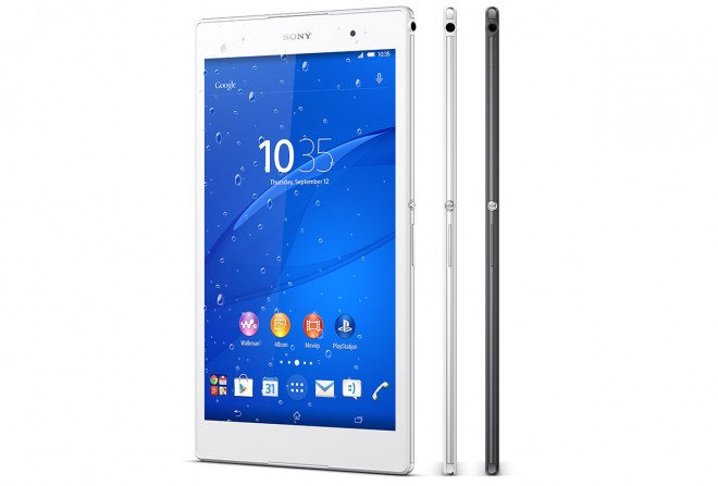 Sony Xperia Z3 Tablet Compact rain