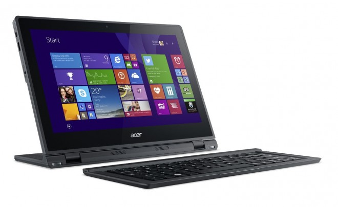 Acer Aspire Switch 12 tablet and keyboard