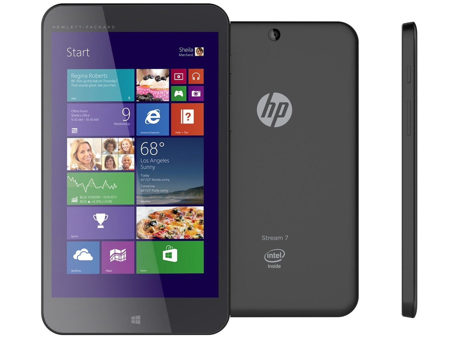 79 hp stream 7 windows 8 1 tablet launched in us canada. Black Bedroom Furniture Sets. Home Design Ideas
