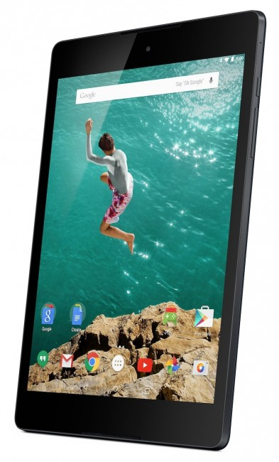 HTC Nexus 9 lunar black taking pre-orders from $399