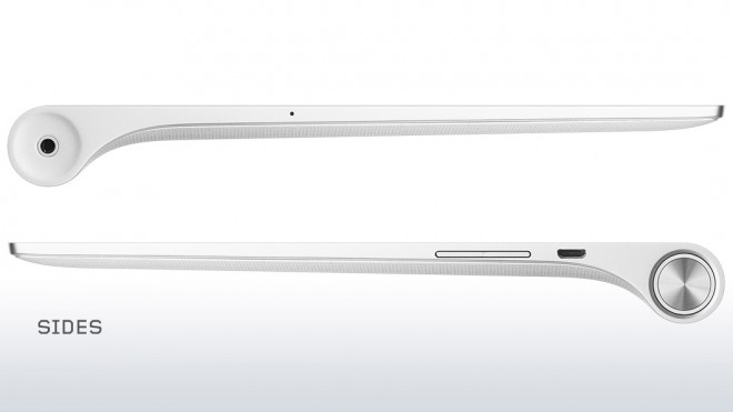 Lenovo Yoga Tablet 2-1050 side