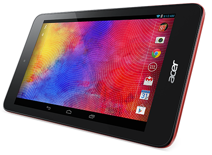 Acer Iconia One 7 (B1-750) in red