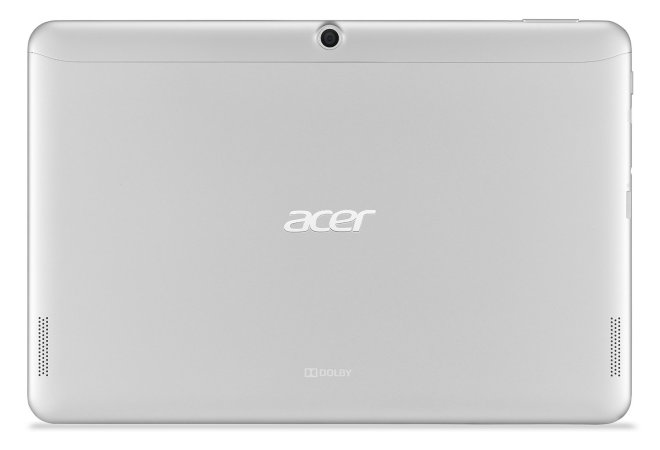 Acer Iconia Tab 10 A3-A20 rear camera and Dolby speakers