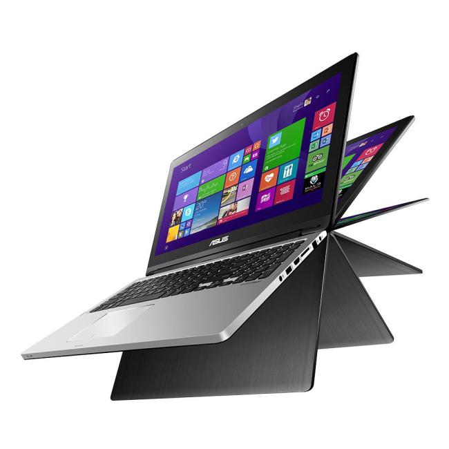 Asus Transformer Book Flip TP500LA rotating laptop screen