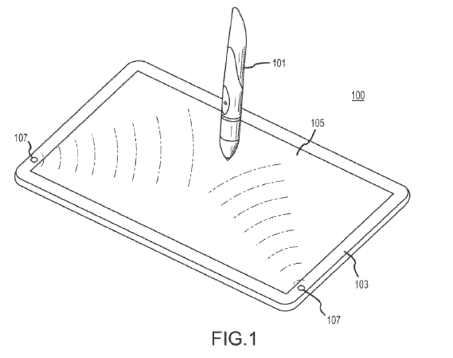 Apple have filed many patents over the years on various stylus designs.