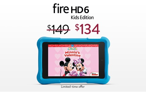 Fire HD 6 Kids Edition