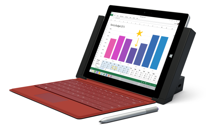 Surface 3 Docking