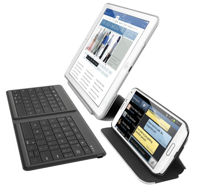 Microsoft Universal Foldable Bluetooth Keyboard for tablets and phones