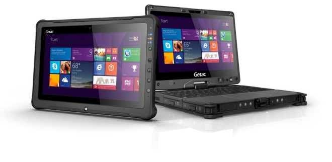 Rugged tablet Getac F110