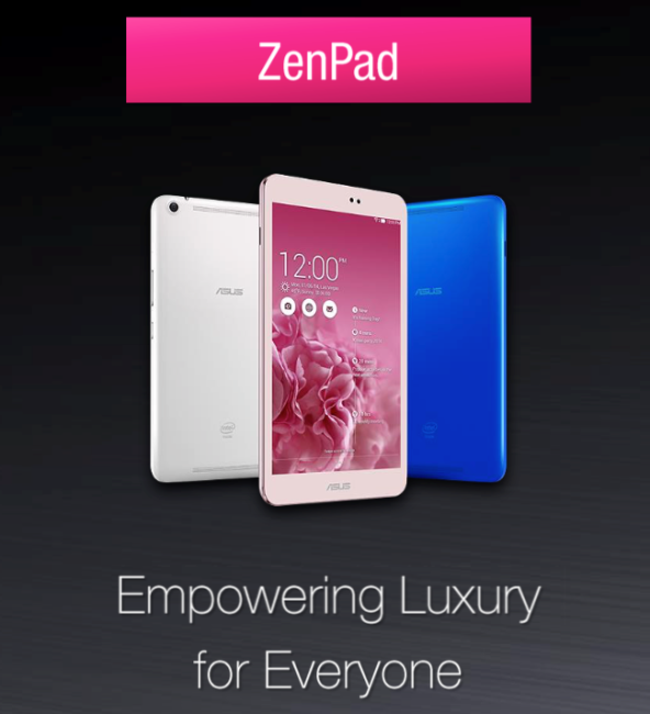 Asus ZenPad Tablets