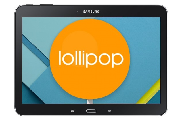 Samsung Galaxy Tab 4 10.1 Android 5.0 Lollipop