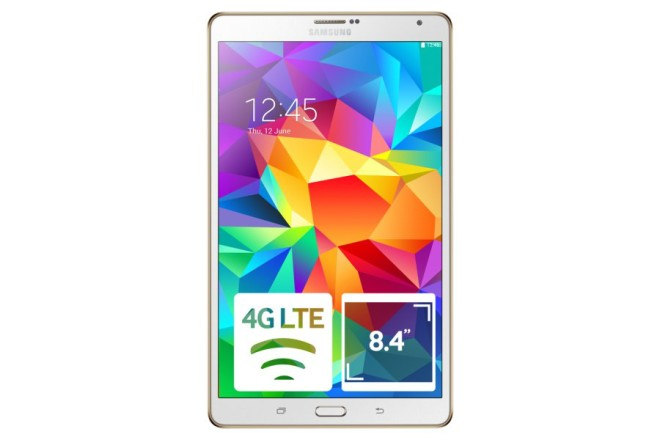 What the first Samsung Galaxy Tab S 8.0 looks like