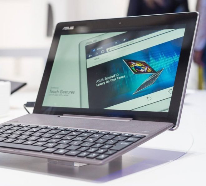 Android tablet with keyboard