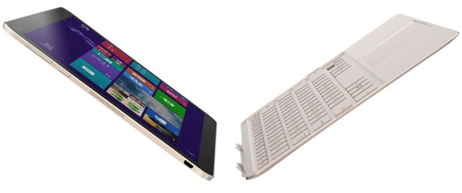 Crystal Silver Asus Transformer Book Chi With Windows 10
