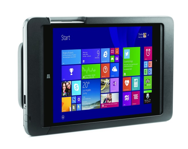 HP Pro Tablet 608 G1 with optional retail jacket