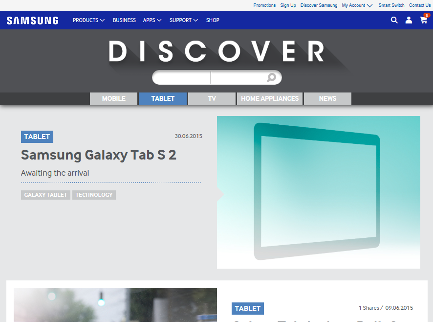 Samsung Galaxy Tab S2 Officially Announced By Samsung