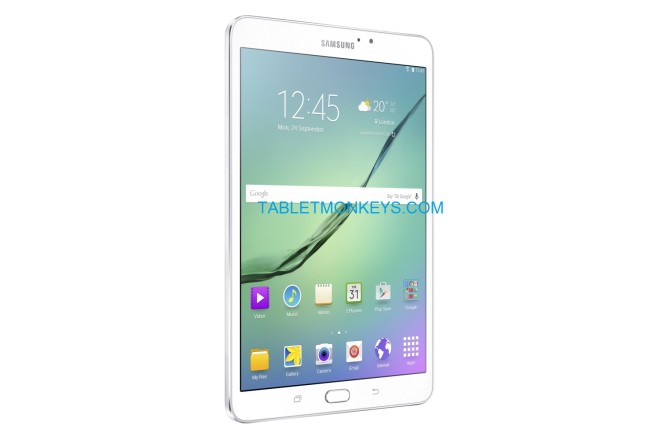 Samsung Galaxy Tab S2 8.0 in white