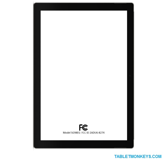 12-Inch Amazon tablet render by us