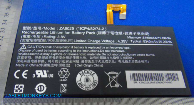 Acer Iconia One 10 (B3-A10) battery