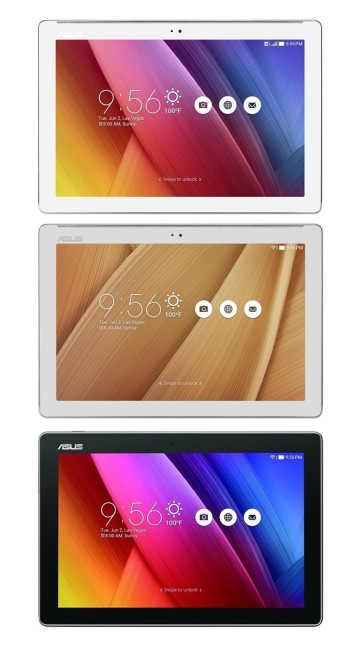 Asus ZenPad 10 Color Options