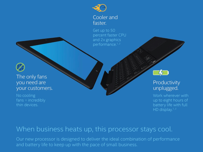 Intel Core M tablets