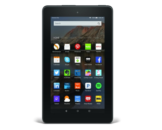 Amazon Fire 2015-2016 tablet model