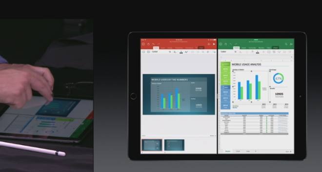 Microsoft Office on iPad Pro