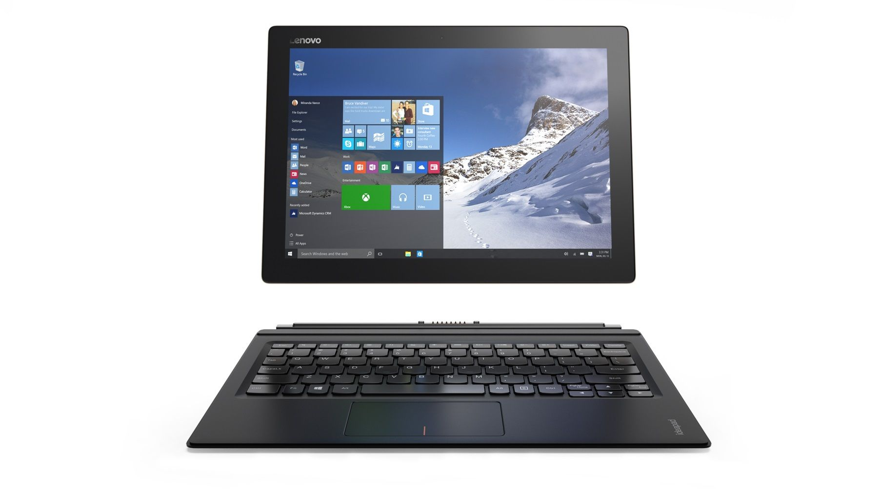 lenovo miix 700 windows 10 2 in 1 tablet launched. Black Bedroom Furniture Sets. Home Design Ideas