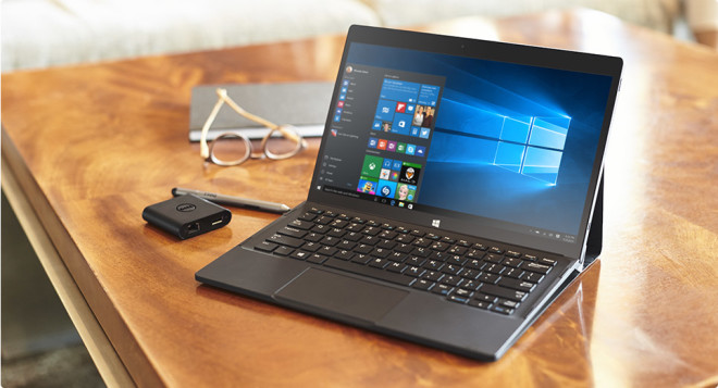 4K Dell XPS 12 Windows 10 2-In-1