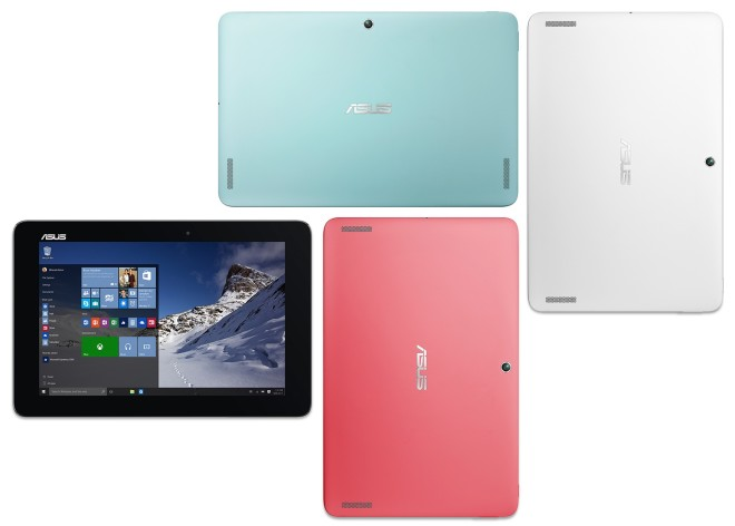 Asus Transformer Book T100HA red, white, blue