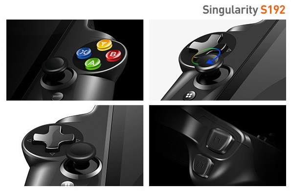 JXD Singularity S192 controllers