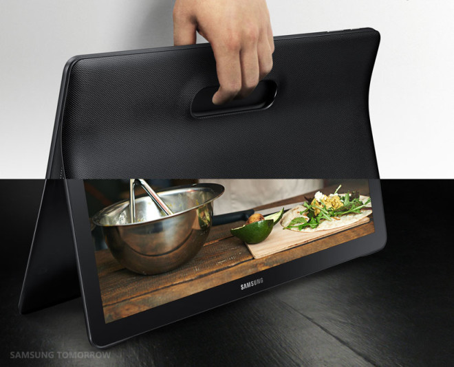 Samsung 18.4-inch large tablet with Android