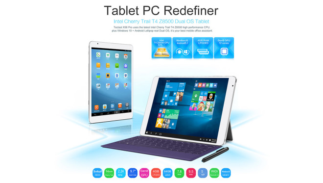 Teclast X98 Pro dual OS tablet