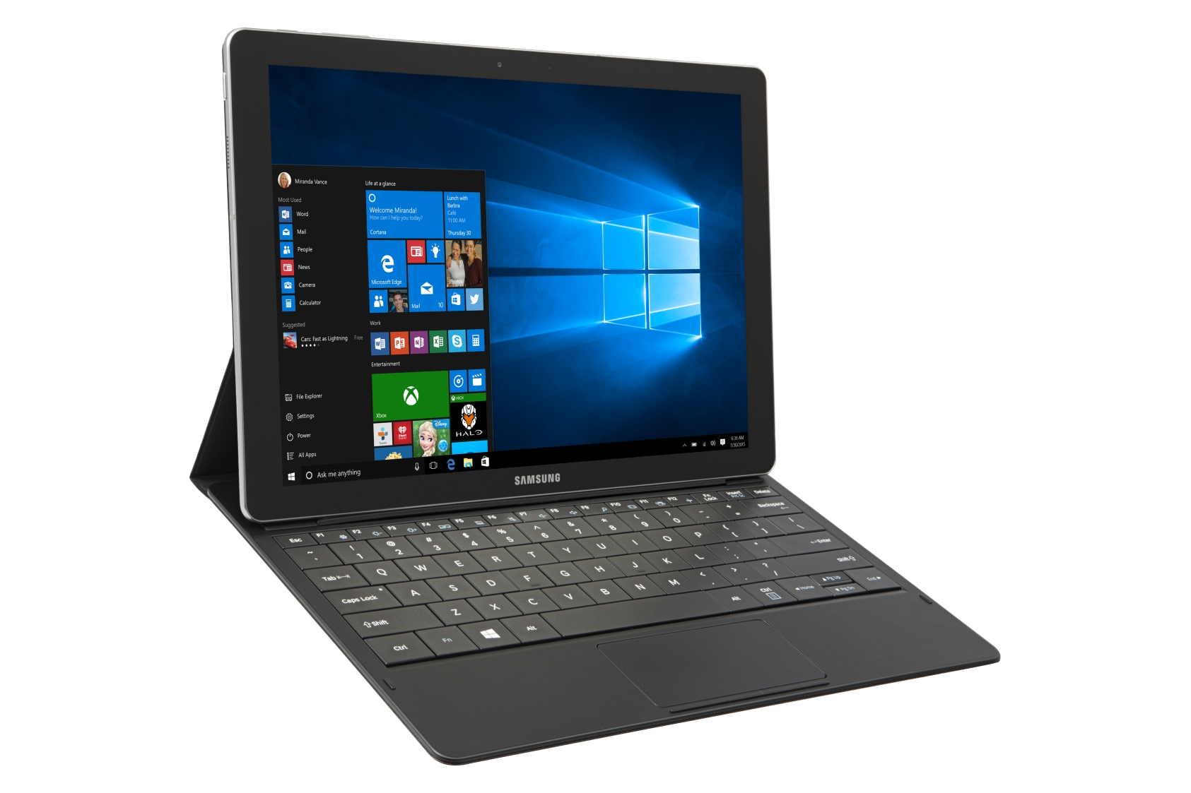 Samsung galaxy tabpro s sm w700 windows 10 2 in 1 unveiled for Samsung galaxy s tablet