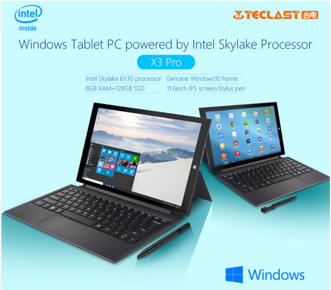 Windows 10 2 in 1 tablets