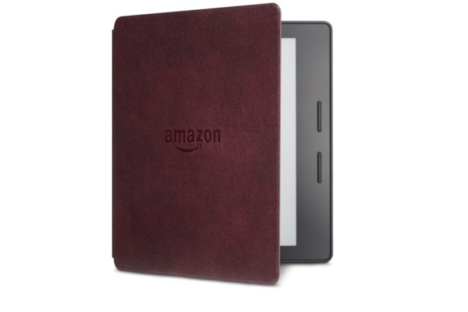 Kindle Oasis Merlot Leather Charging Cover