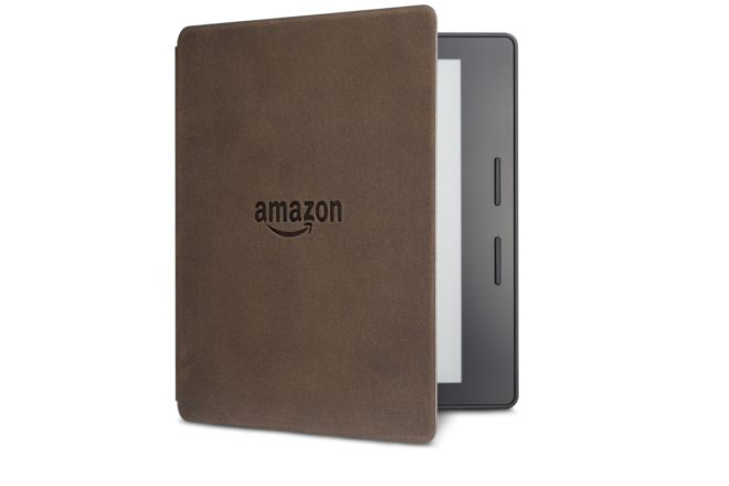 Kindle Oasis Walnut Leather Charging Cover