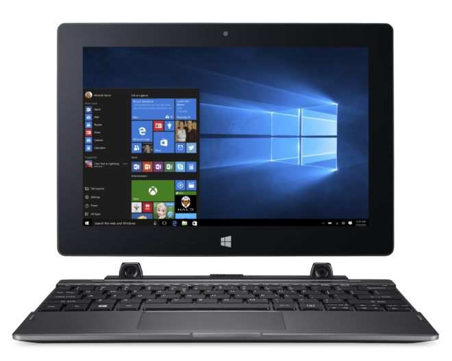 Acer Switch One 10 - Windows 10 2-in-1 img001