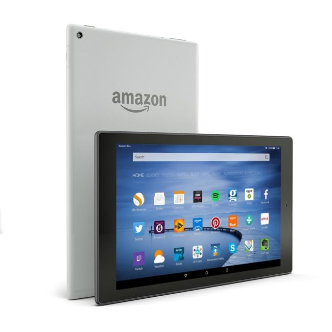 Fire HD 10 Aluminum Tablet