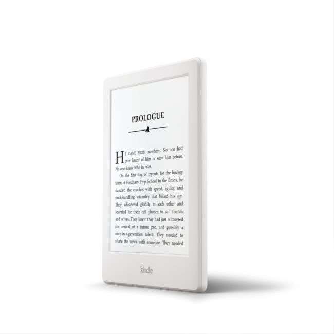 New Kindle white