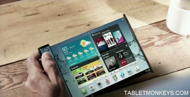 Foldable Samsung Tablet + Phone To Launch In 2017