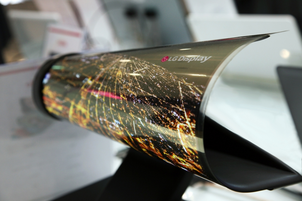 Foldable tablets flexible LG display