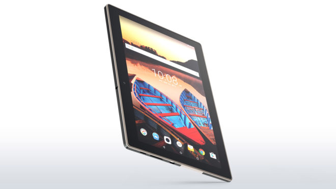 Splash Proof Lenovo tablet