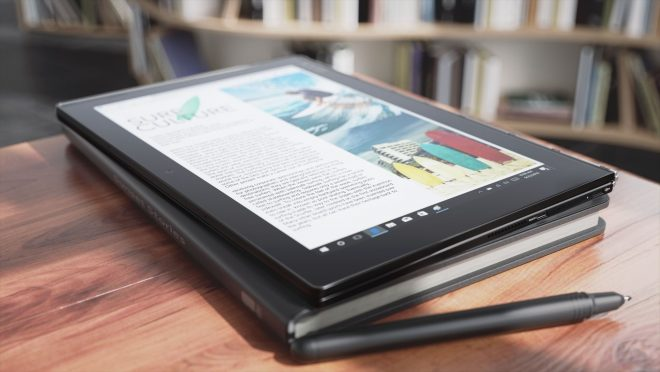 Lenovo Yoga Book launch
