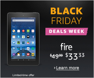 Amazon Fire Tablet Black Friday Deals 2016