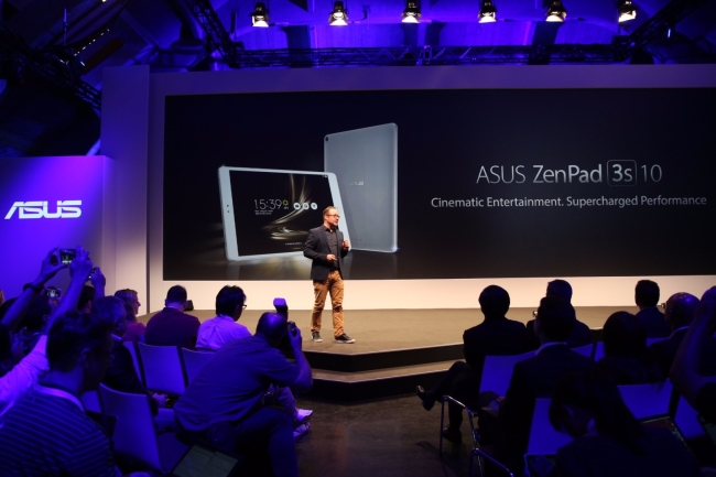 Asus ZenPad 3S 10 launch