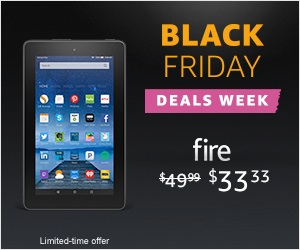 Fire $33 Tablet - Black Friday Tablet Sale 2016
